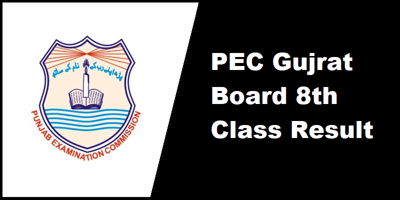 PEC Gujrat Board 8th Class Result
