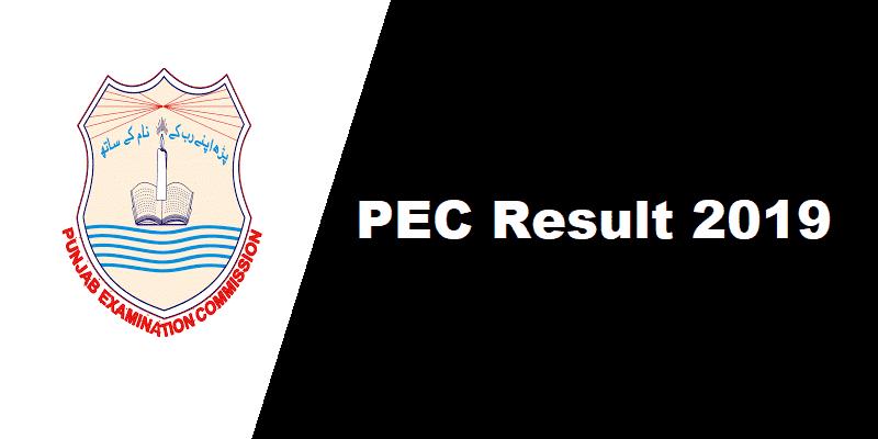 PEC Result 2019