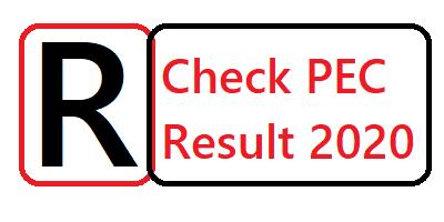 PEC Result 2020